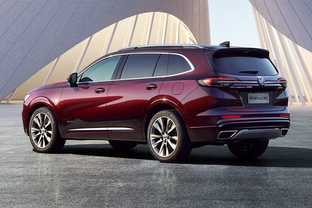 2022 Buick Envision rear view