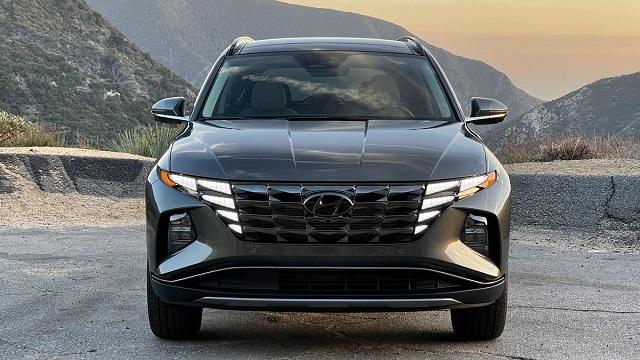 2022 Hyundai Tucson front view