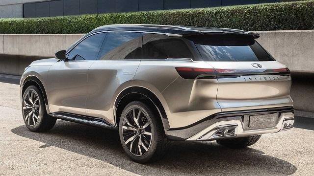 2022 Infiniti QX80 rear view