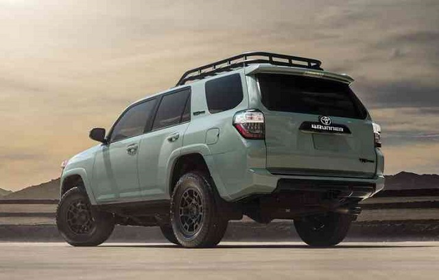2022 Toyota 4Runner rear view