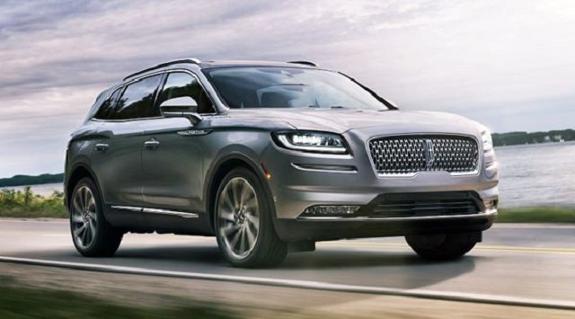 2022 Lincoln Nautilus front view