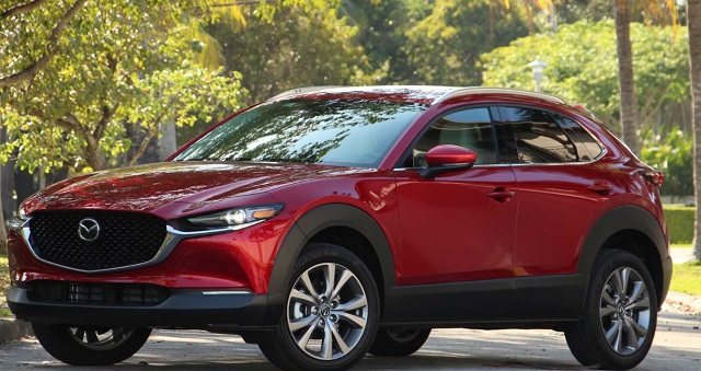 2022 Mazda CX-30 front view