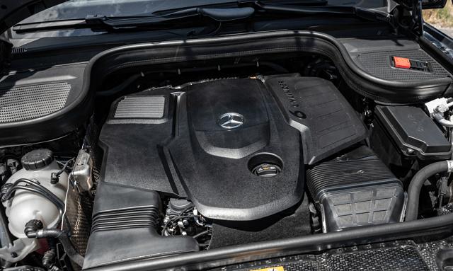 2022 Mercedes-Benz GLS engine
