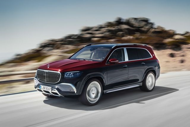 2022 Mercedes-Maybach GLS 600 front view