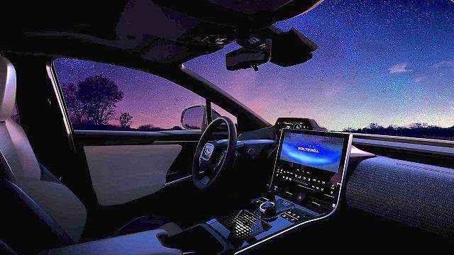 2023 Subaru Solterra Electric SUV Interior