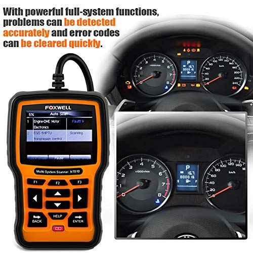 Foxwell NT510 Review 2019[Scanner for Mercedes-Benz/Sprinter]