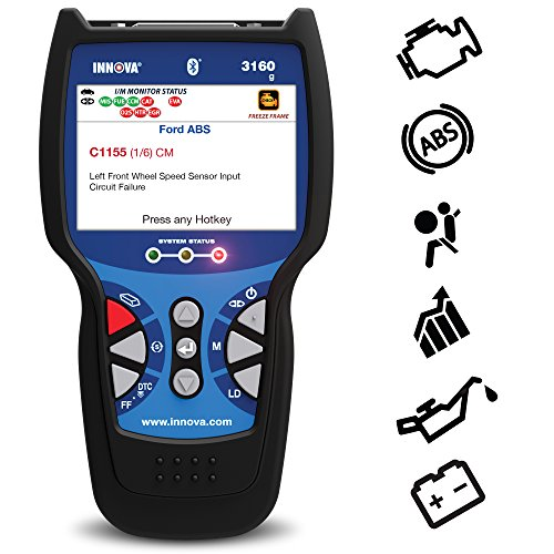 Innova 3160g Code Reader with Bluetooth