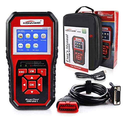 Konnwei KW850 Review 2019[Check Engine Light Scan Tool for