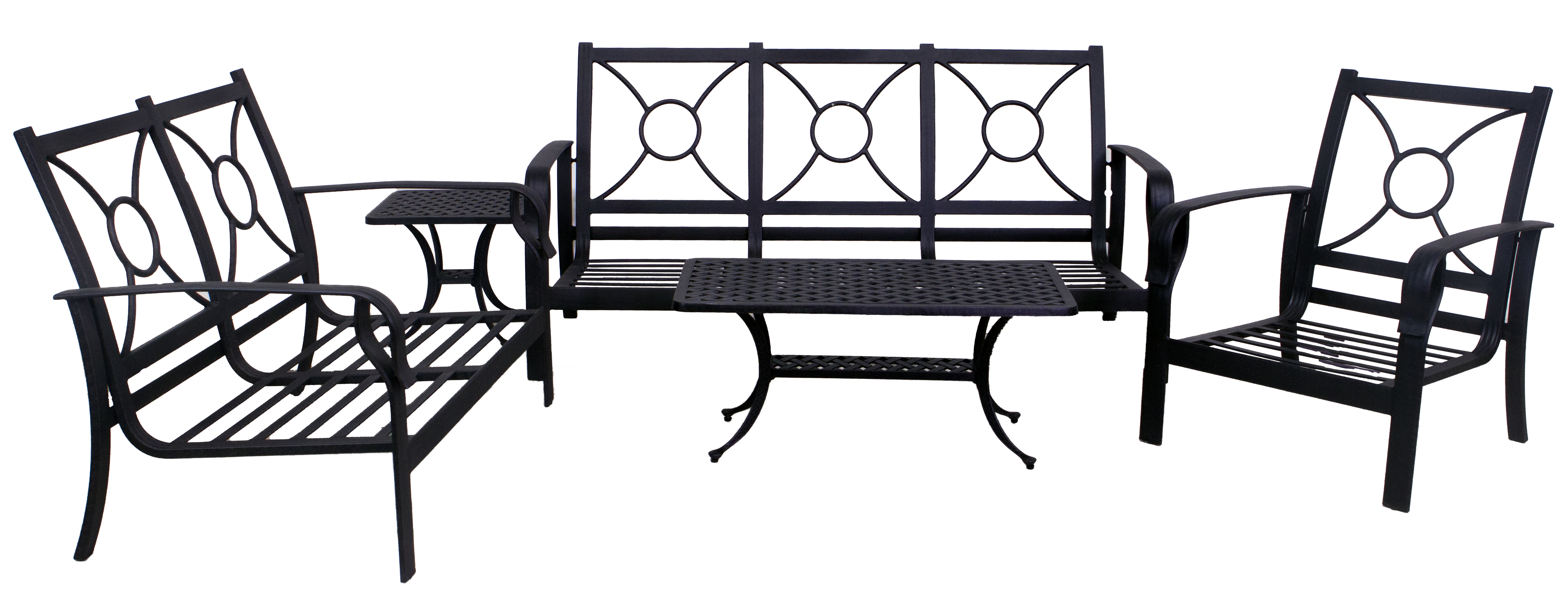 Venice Collection Loveseat Sofa Club Chair Coffee Table