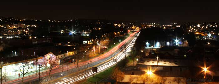 bristol m32 at night