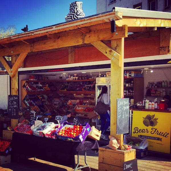Bear Pit Fruit Stall
