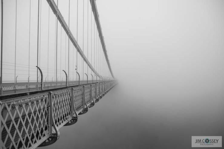 Clifton Suspension Bridge Mist