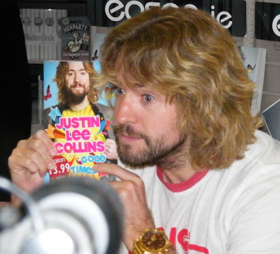 Justin Lee Collins Bristol