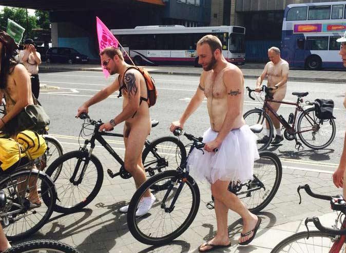 naked bike ride tutu
