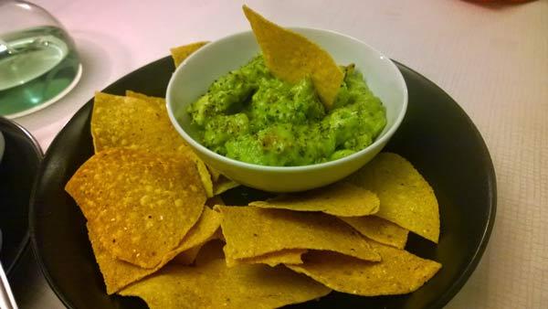 Guacamole at Viva La Mexicana