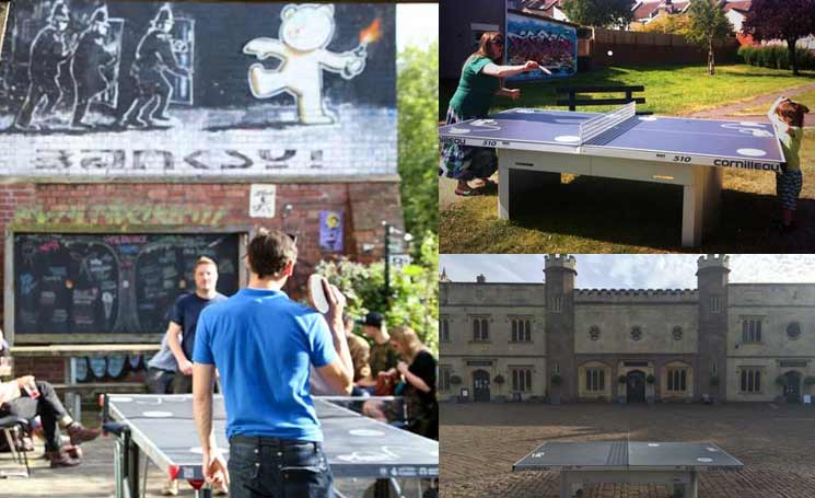 places to play table tennis