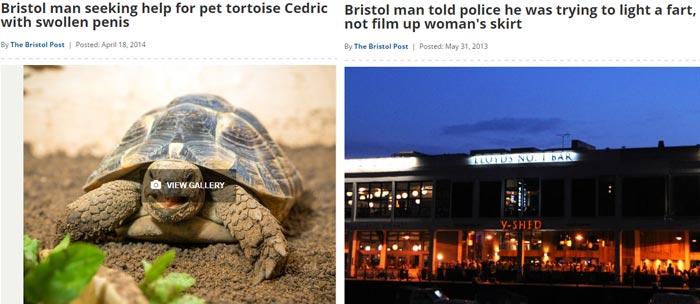 funny bristol headline