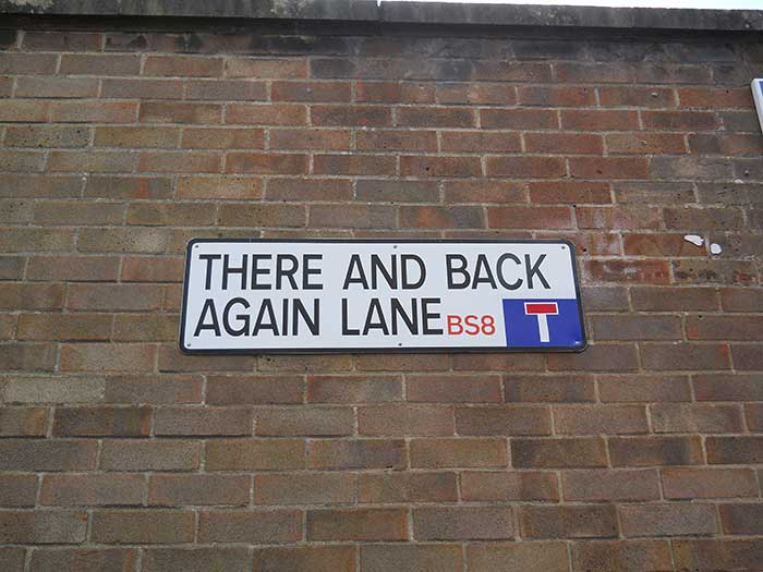 there and back again lane bristol