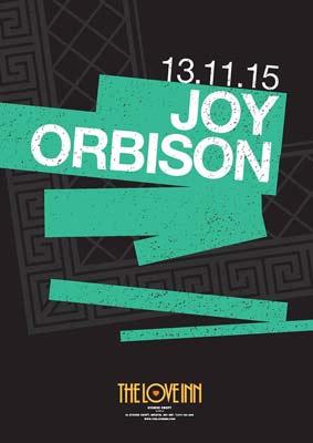joy orbison at the love inn