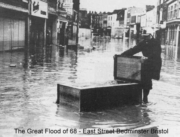 east street bedminster flood