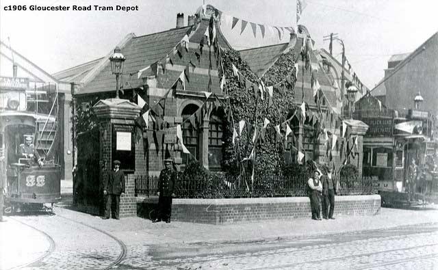 Gloucester road tram depot