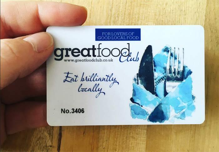 great food club card