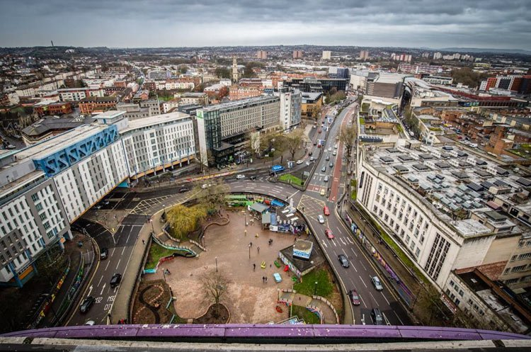 bearpit from above