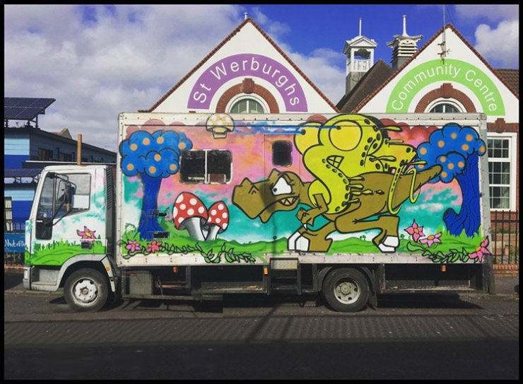 another st werburghs van in bristol