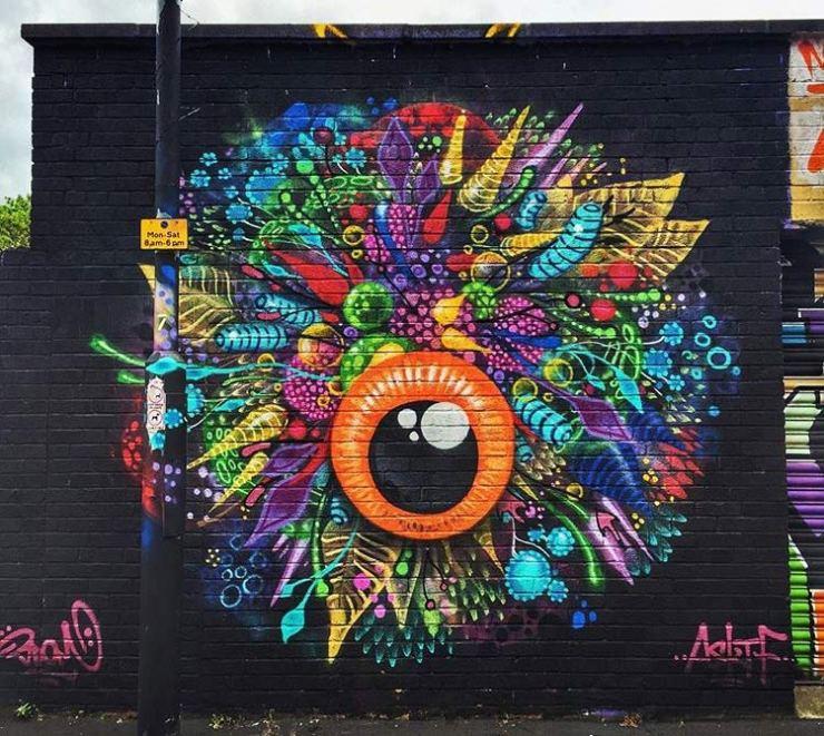 3dom street art