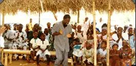 Prophet TB Joshua first church