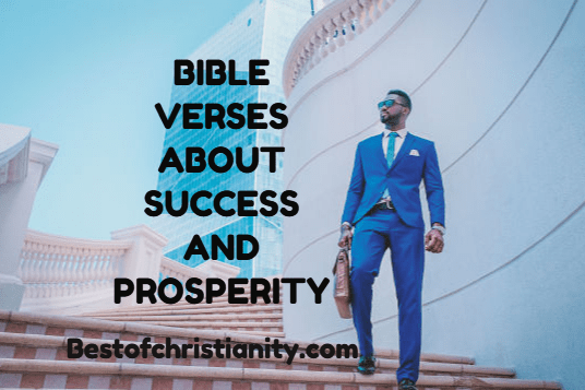 Bible Verses About Success and Prosperity
