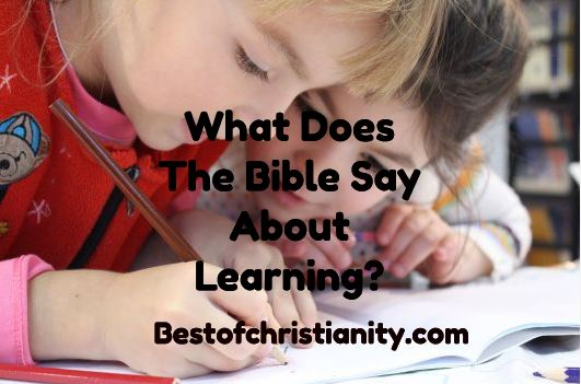 What Does The Bible Say About Learning?