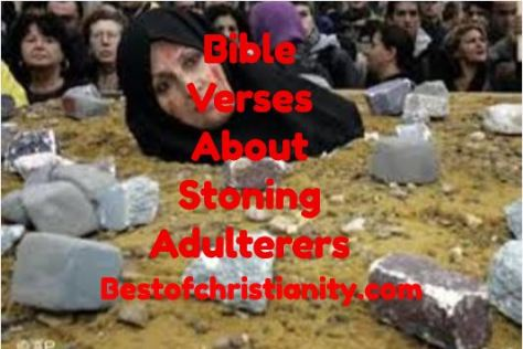 Bible Verses About Stoning Adulterers