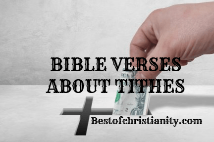 Bible Verses About Tithes