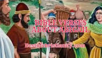 Bible Verses About Abigail