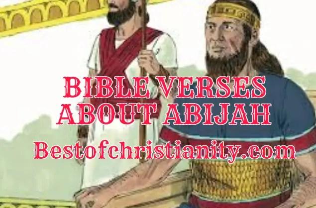 Bible Verses About Abijah