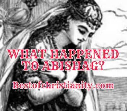 What Happened To Abishag