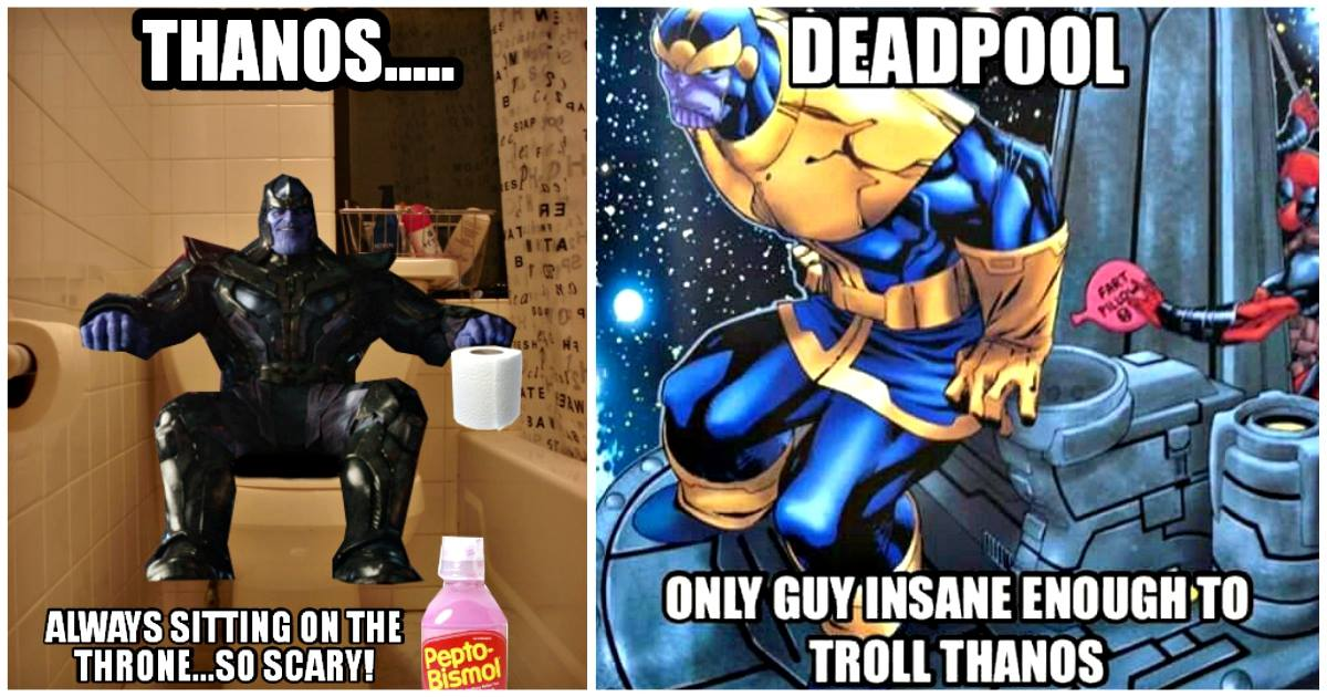 28 Funny Thanos Memes That Don T Make Him So Dark And