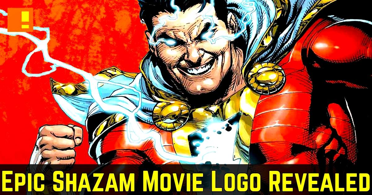 Shazams Movie Logo Has Been Revealed And It Looks Glorious