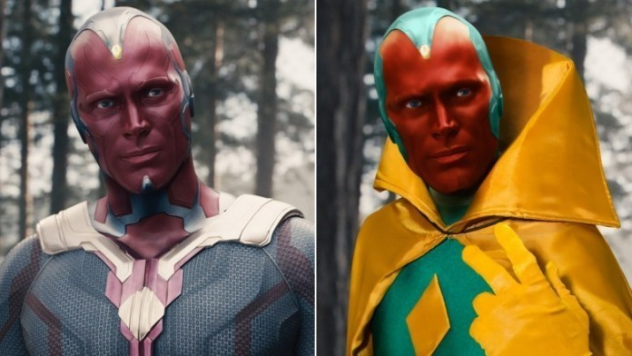 Vision in Comics Vs In Movies