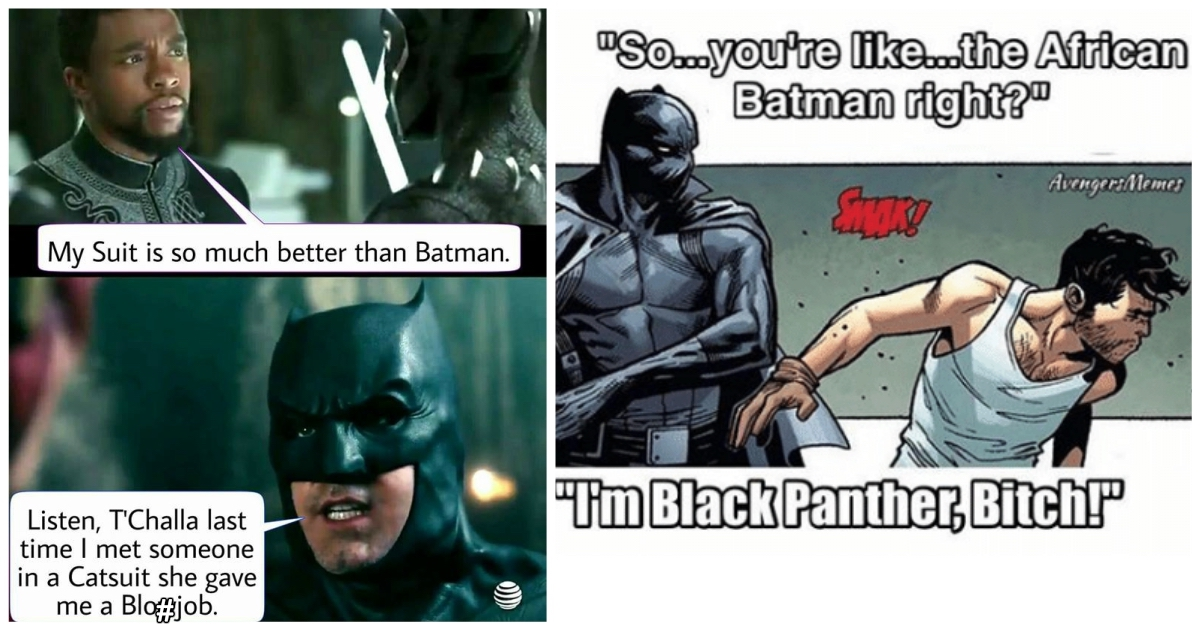 Funny Meme Black Panther : 13 hysterically funny black panther vs batman memes best of comic