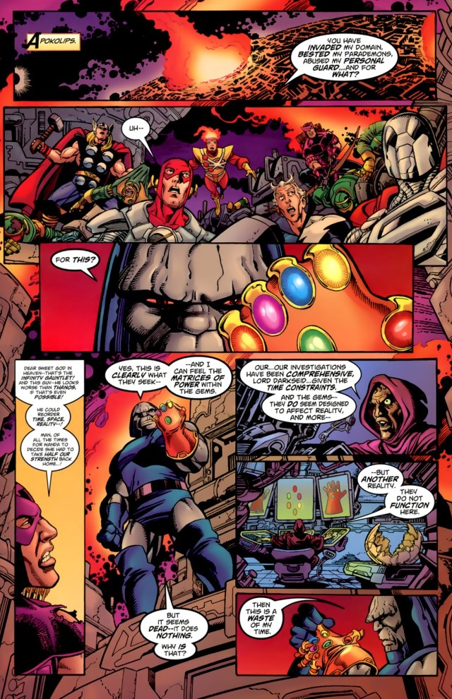 the time when flash wore the infinity gauntlet