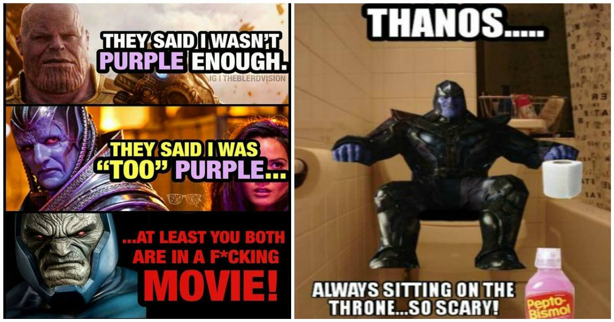 17 Fresh And Hilarious Thanos Memes Confirm That Avengers ...