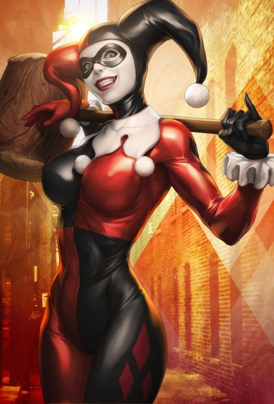 Quinn comic harley nackt Suicide Squad