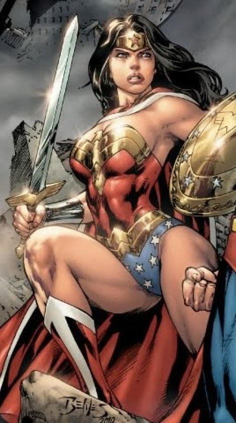 Wonder Woman Angry