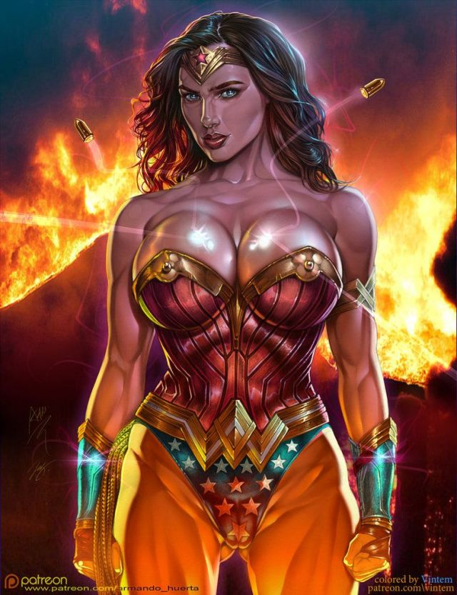 Wonder Woman Fire