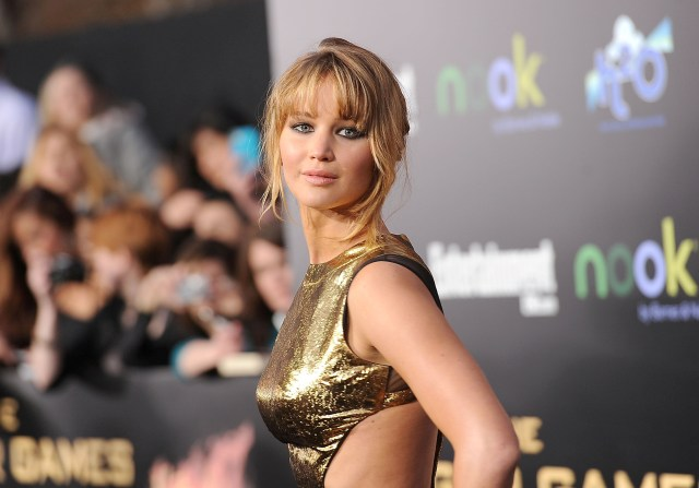 Jennifer Lawrence Sexy Dress