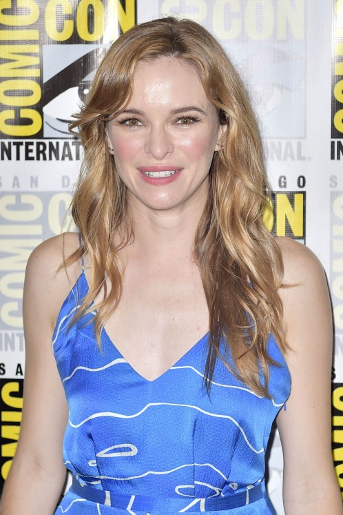 Danielle Panabaker Blue Dress