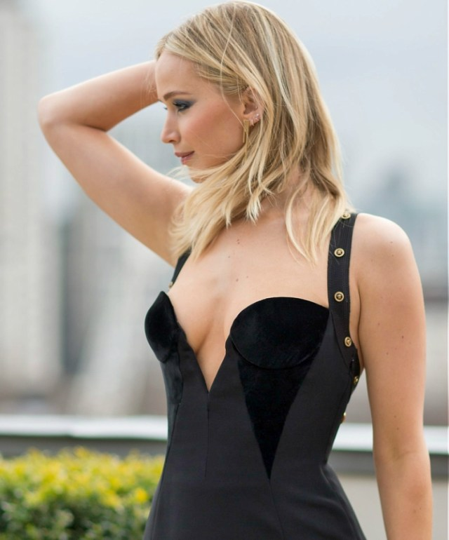 Jennifer Lawrence Black Dress