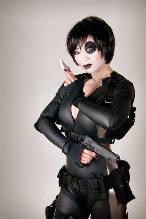 Domino Sexy Cosplay